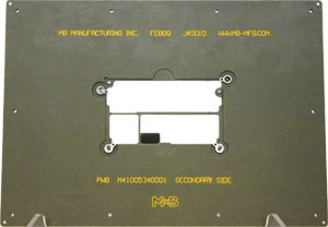 smt_process_carrier_clamps_flush_for_screen_print_that_have_springloaded_holddown_for_pick_and_place_and_reflow_TN