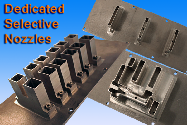 Dedicated Selective Solder Nozzles Mb Manufacturing